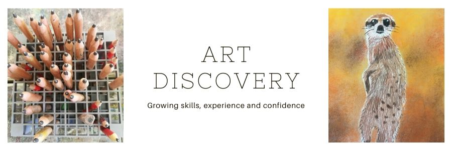 Art Discovery class for Grade 3 to Grade5